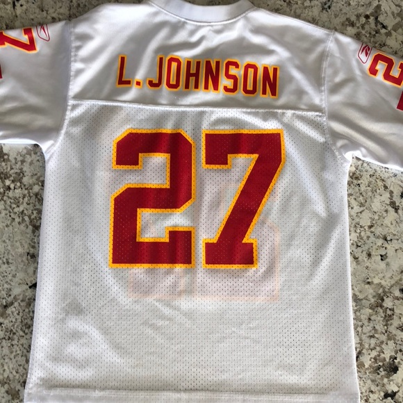 buy online 56a5c 1f137 Chiefs jersey Larry Johnson